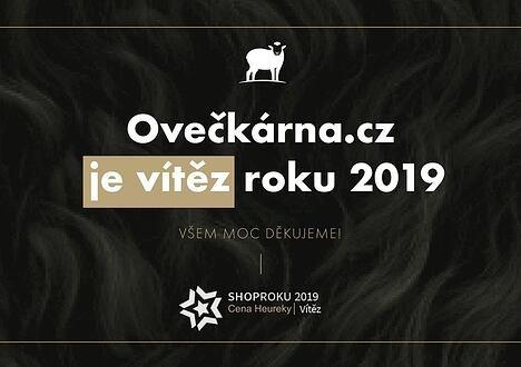 OVEČKÁRNA ZVÍTĚZILA V SOUTĚŽI SHOPROKU 2019