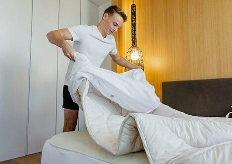 Pături cu lăna de oaie