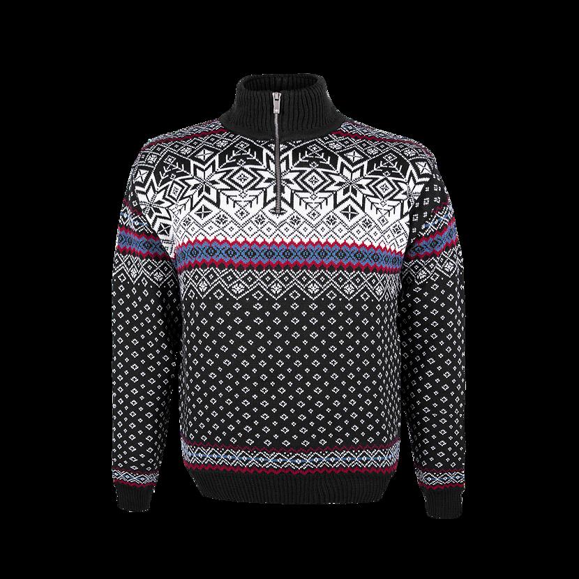 Unisex sweater merino KAMA 471  Black