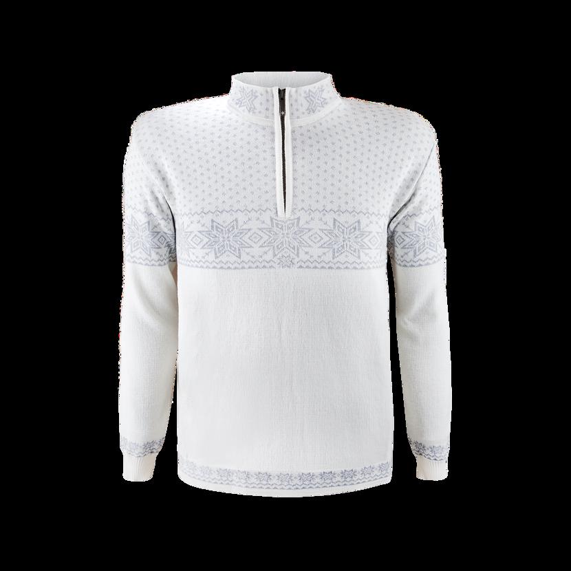 Men's sweater merino KAMA 4053 -  Off white