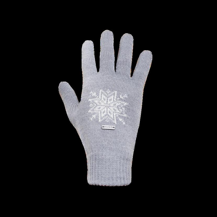 Knitted merino gloves Kama R104  Gray