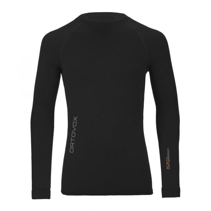 Pánske merino tričko 230 Competition long sleeve ORTOVOX  BlackRaven