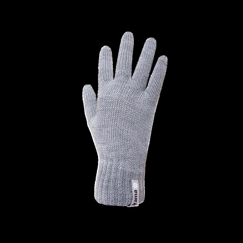 Knitted Merino gloves Kama R101  Gray