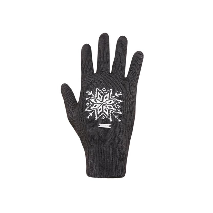 Knitted merino gloves Kama R104 Dark Gray