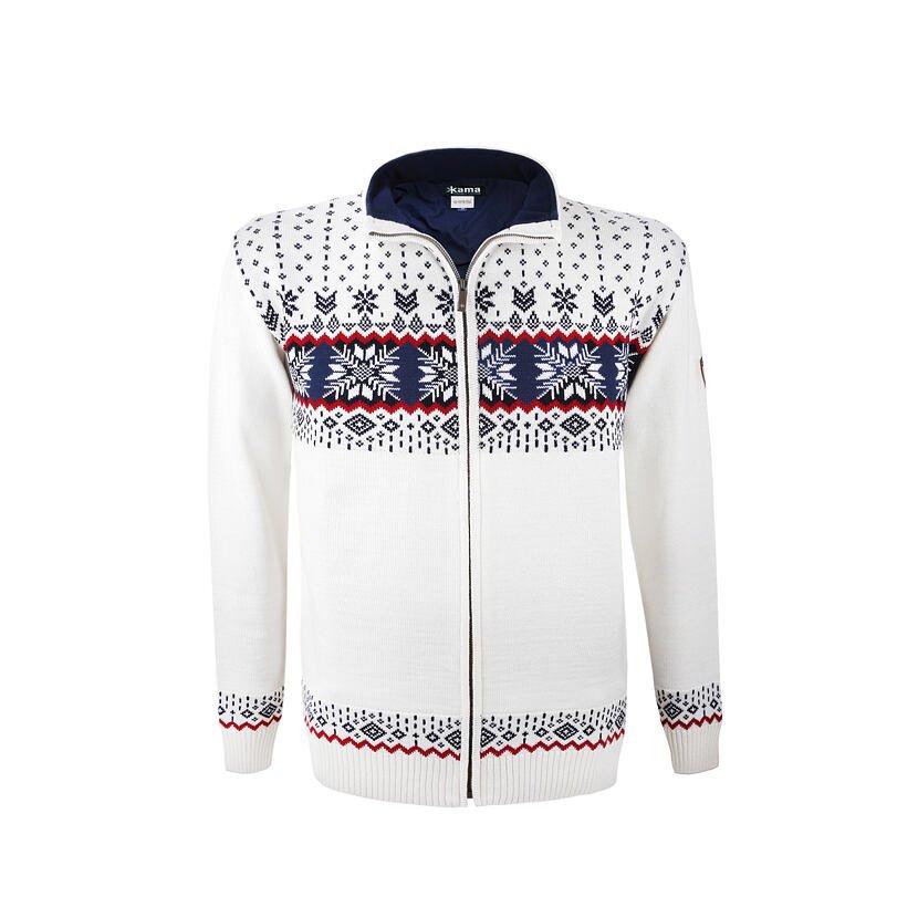 Men's sweater Merino Kama L139 - Off white