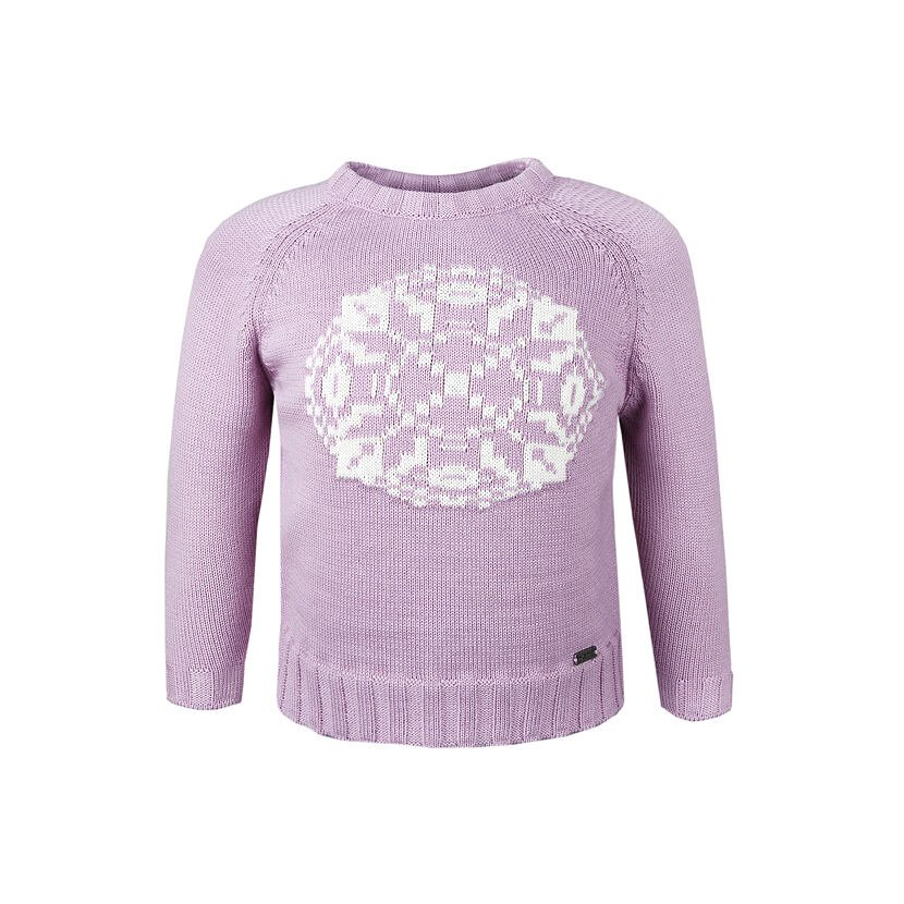 Detský pletený sveter Merino Kama 1014