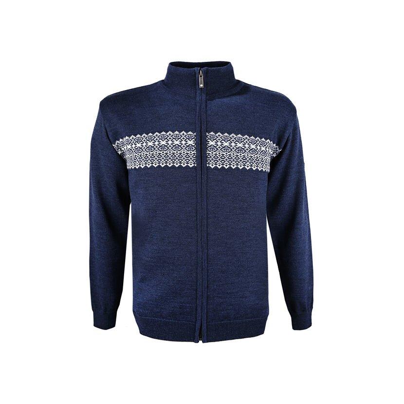 Pulover tricotat Merino pentru bărbați Kama 4108