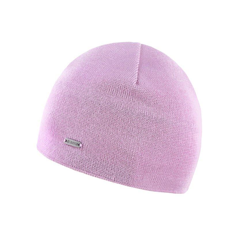 Kid's Merino knit hat Kama B96 - Pink