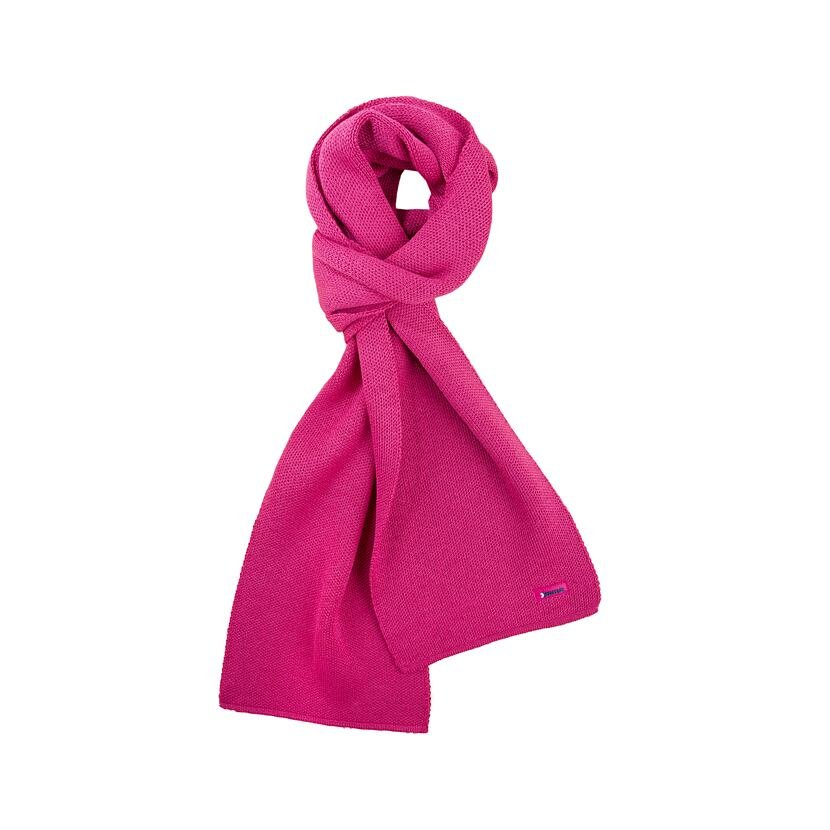 Pletený šál merino KAMA S22  ružová