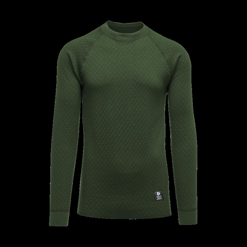 Pánske funkčné tričko merino 3IN1 Thermowave Zelená