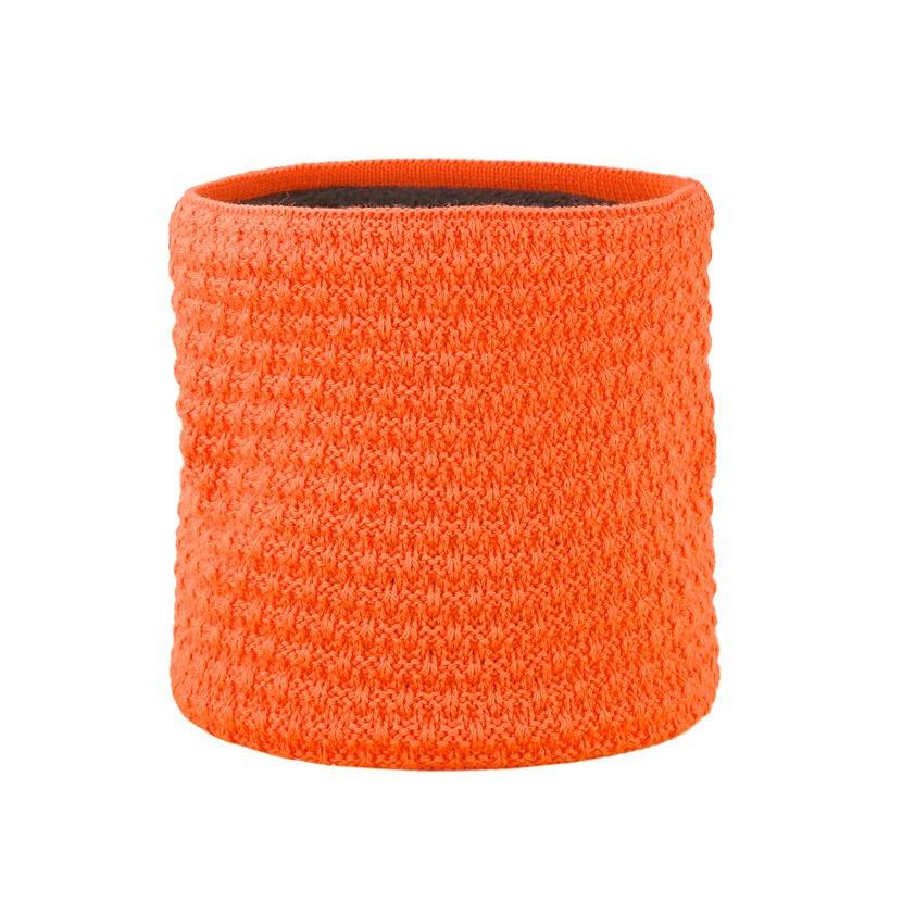 Pletený nákrčník merino KAMA S26 Oranžová