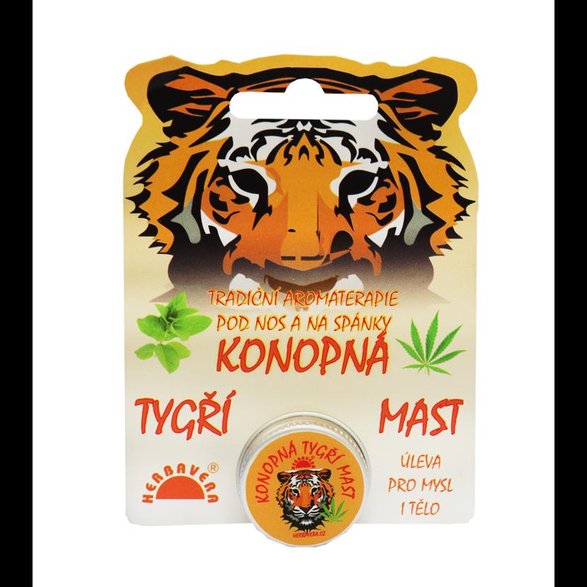 Konopná tigria masť 4,5 g