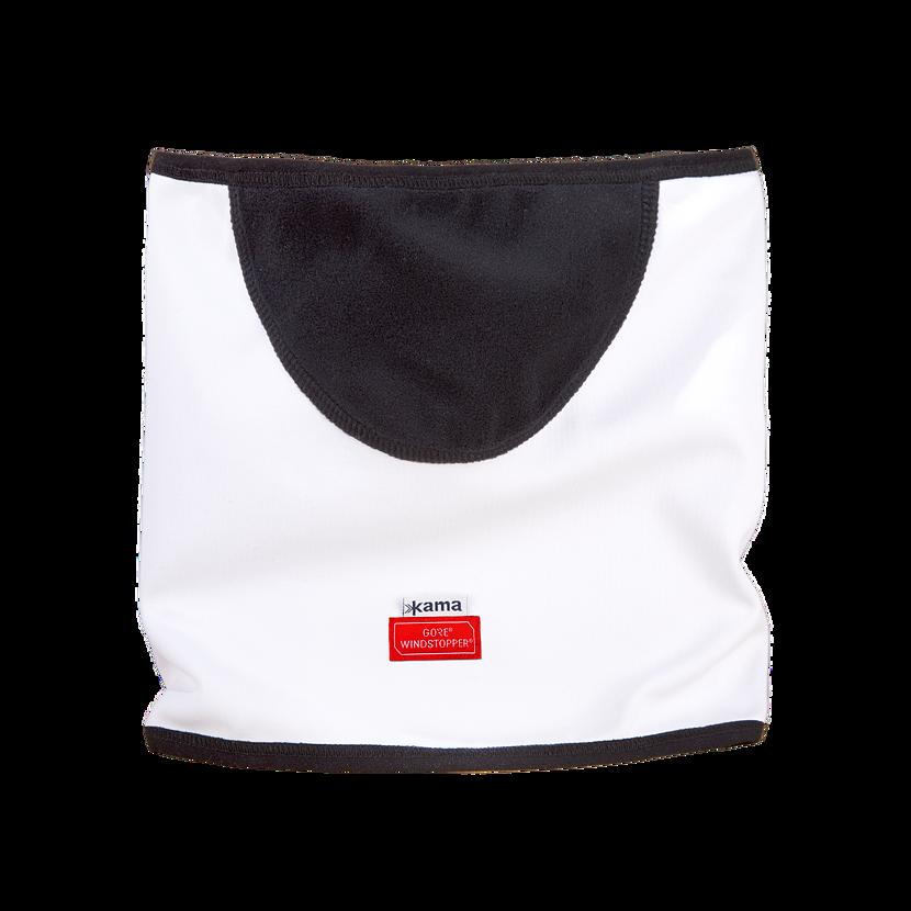 Pletený nákrčník merino KAMA SW01 Biela