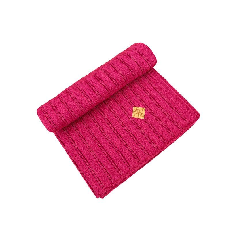 Pătură pentru copii Merino Kama Q105 - Roz