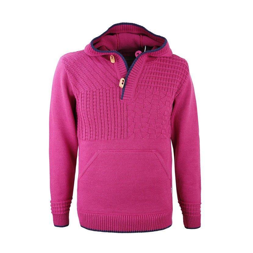 Pletený svetr Merino Kama 4059 růžová