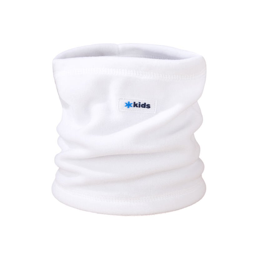 Gyerek fleece csősál Kama SB13 - fehér