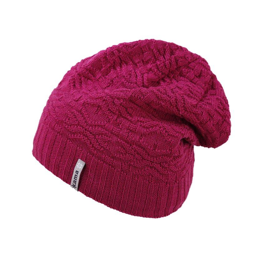 Detská pletená čiapka Merino Kama B94