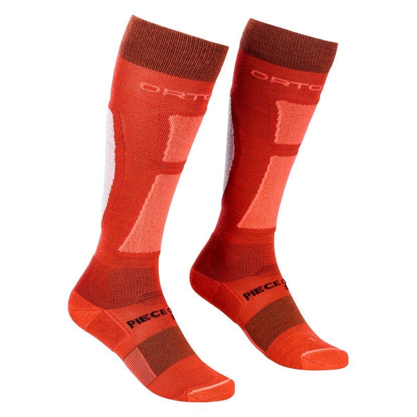 Dámské podkolenky Merino Ortovox Ski Rock'n'Wool Socks Blush
