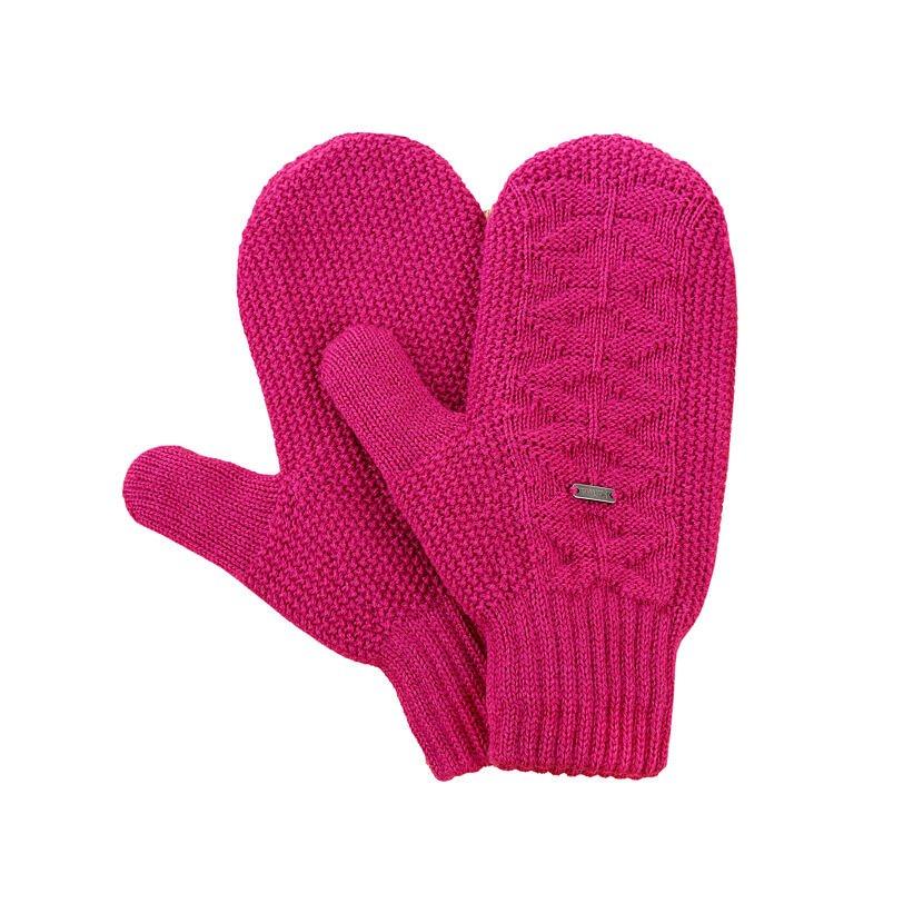 Pletené palčiaky Merino Kama R110 Ružová