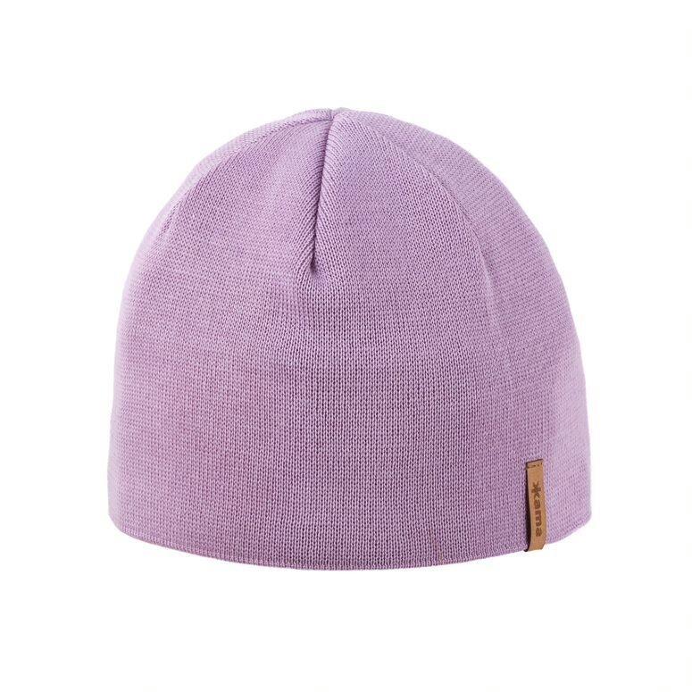 Pletená čepice Merino Kama A02 růžová