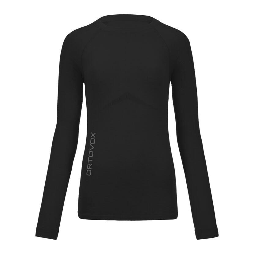 Tricou funcțional merino femei 230 Competition long sleeve ORTOVOX  Black Raven