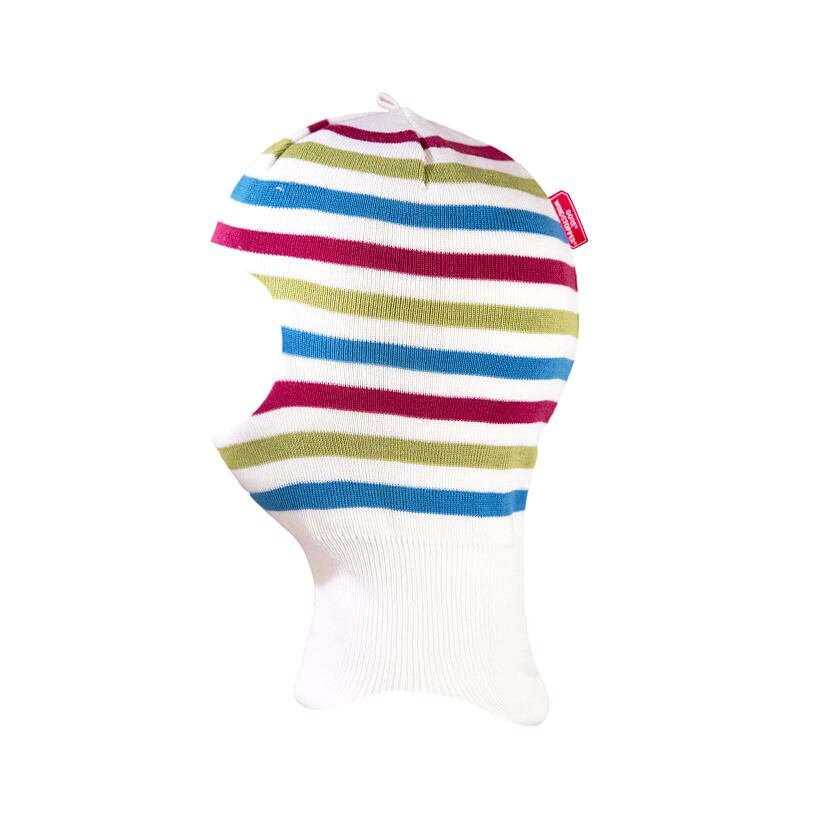 Dětská pletená kukla merino KAMA DB21 bílá