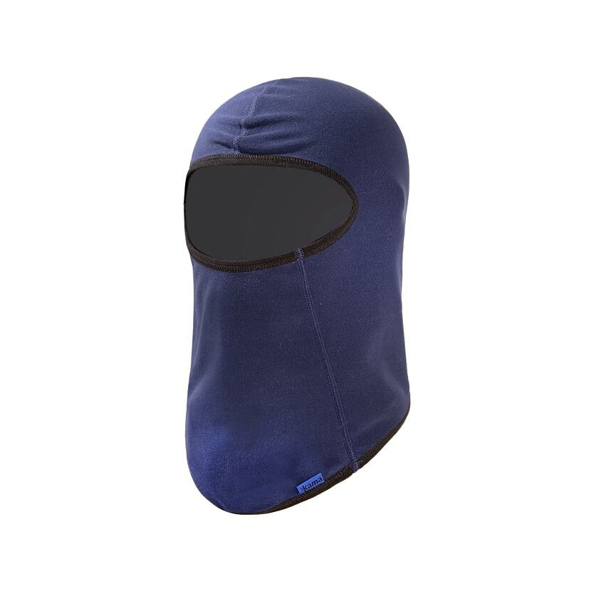 Căciulă fleece tip cagulă pentru copii Kama DB16 - Albastru închis