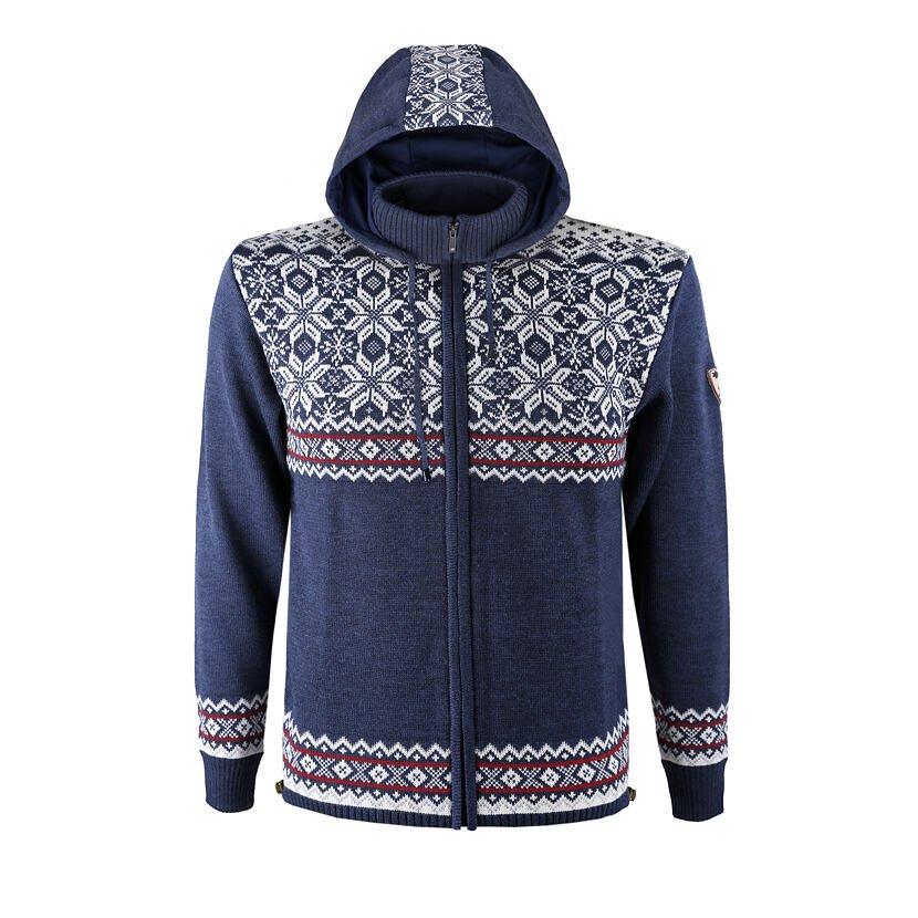 Merino Sweater KAMA 3096 - Dark Blue / Navy