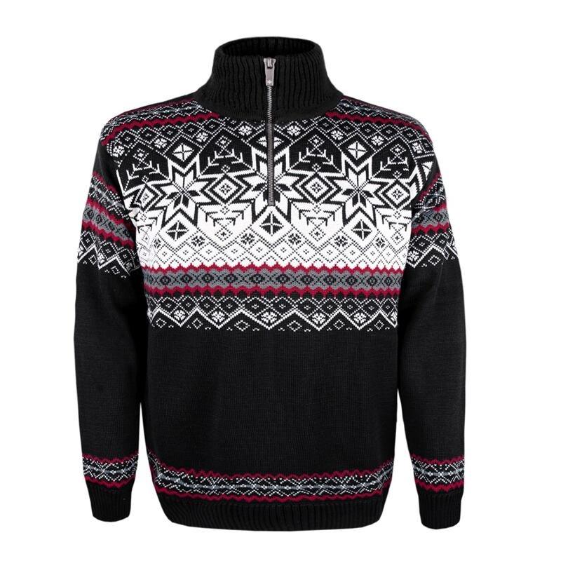 Unisex sweater merino 4071 -  Black