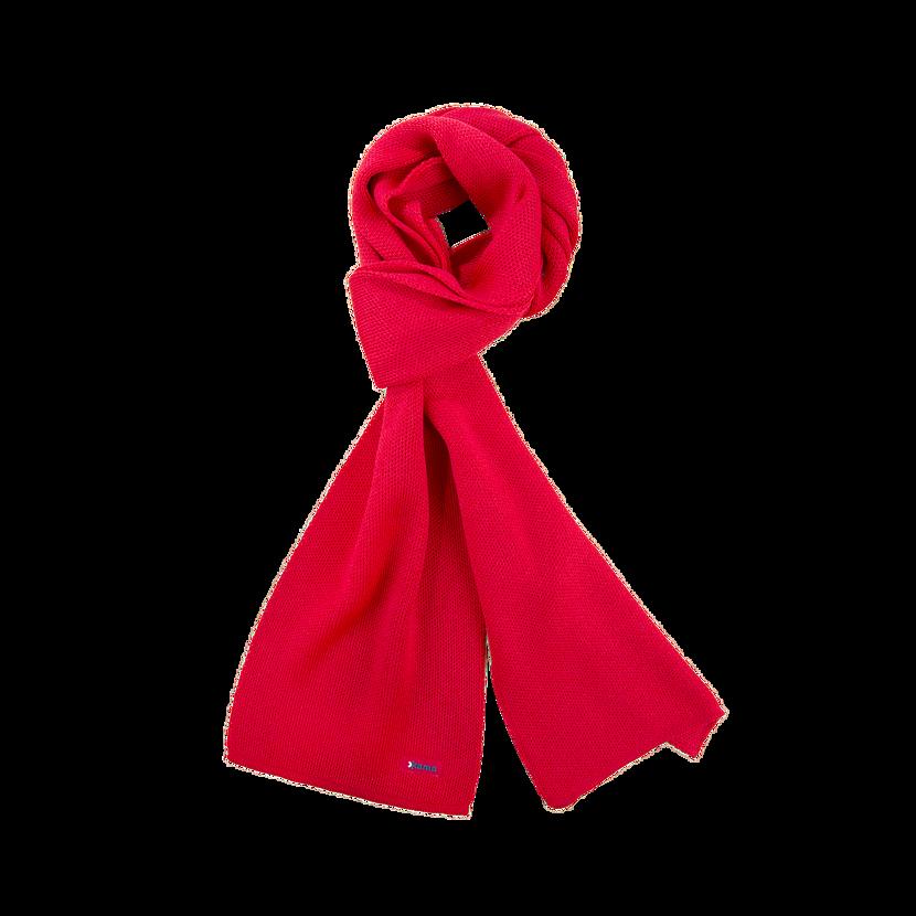 Kötött Merinó sál Kama S22 - piros