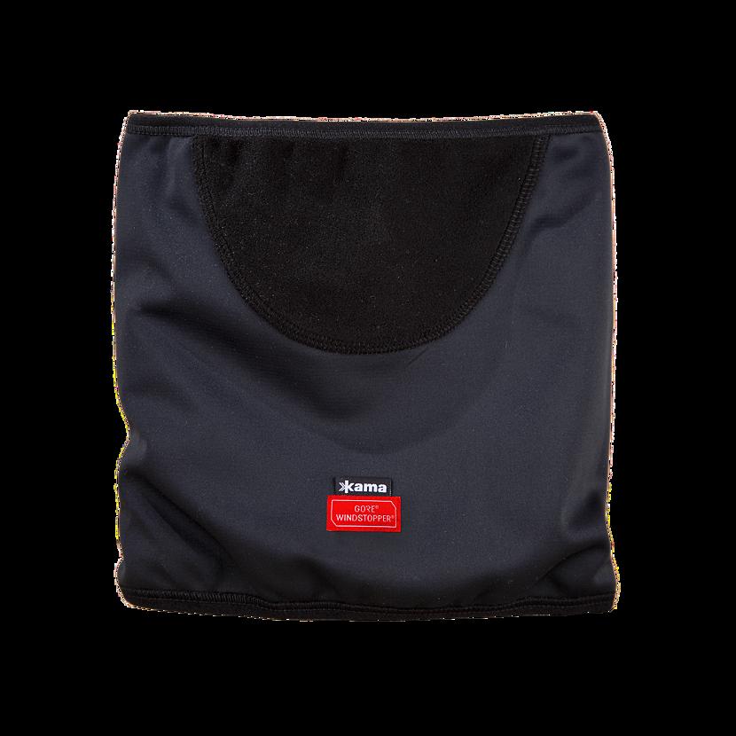 Pletený nákrčník merino KAMA SW01 Čierna