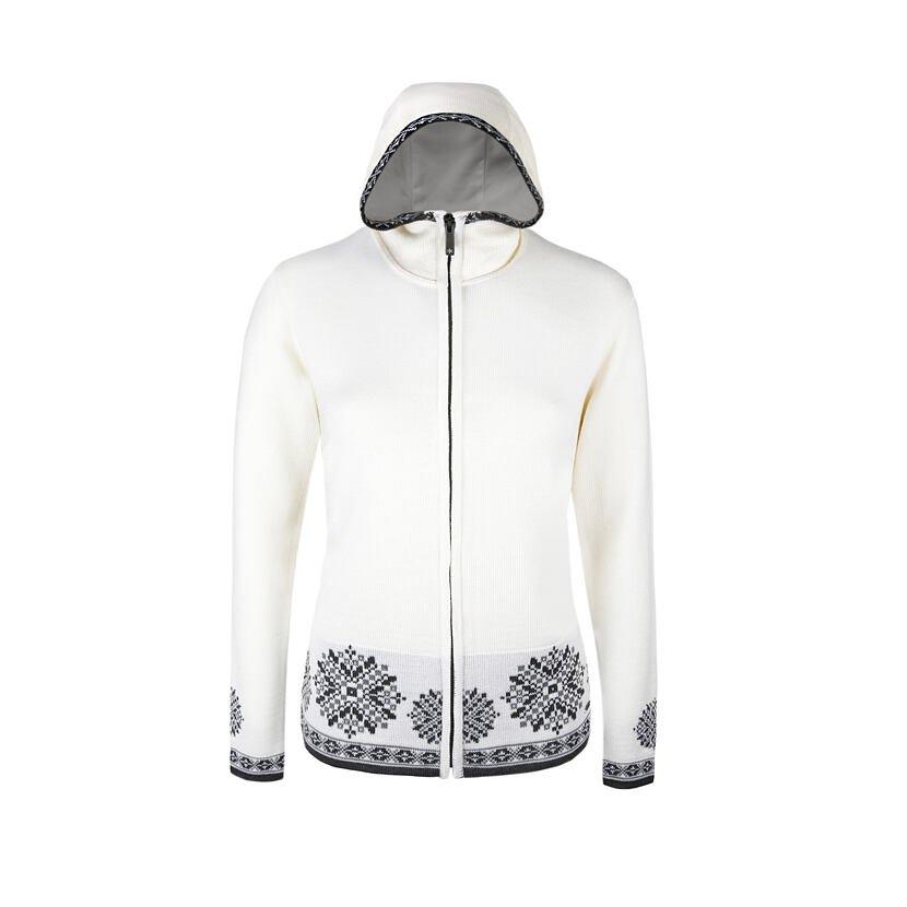Dámský pletený svetr Merino Kama 5035 bílá