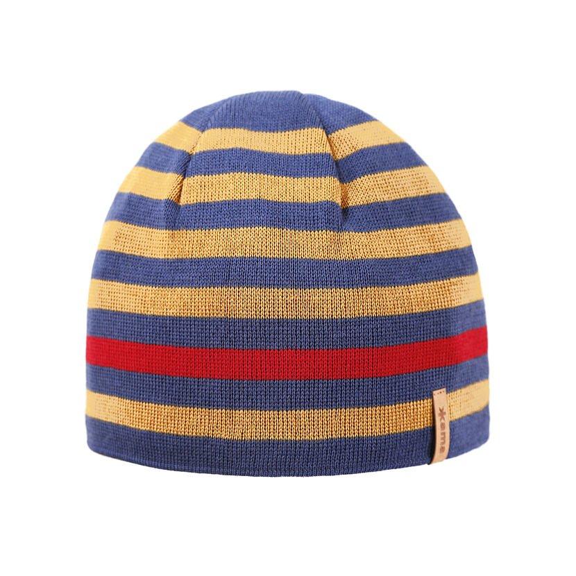 Pletená čiapka Merino Kama A162 svetlo modrá
