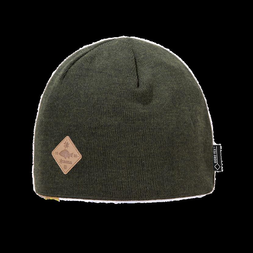 Pletená čiapka Merino Kama LG12 Gore-tex