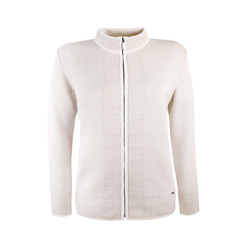 Women's Merino Sweater KAMA 5028 -  Off white