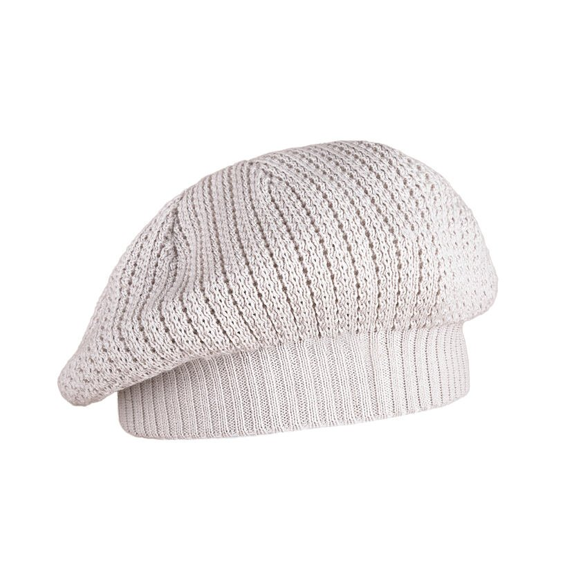 Pletený baret Kama A39 Béžová
