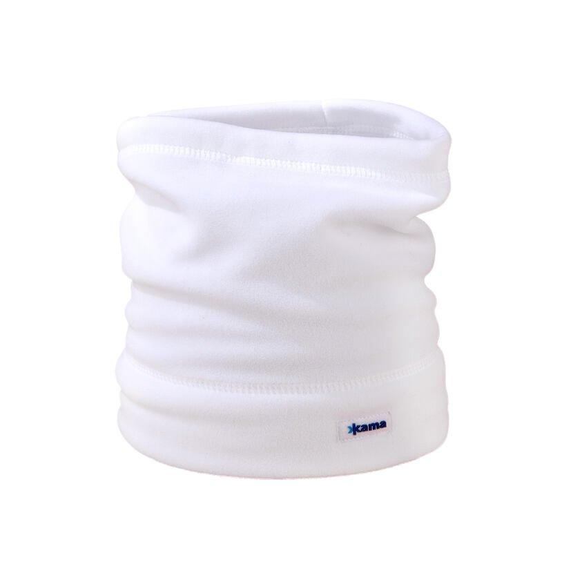 Fleece csősál Kama S27 - fehér