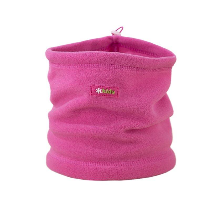 Gyerek fleece csősál Kama SB13 - rózsaszín