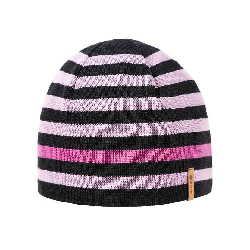 Pletená čiapka Merino Kama A162