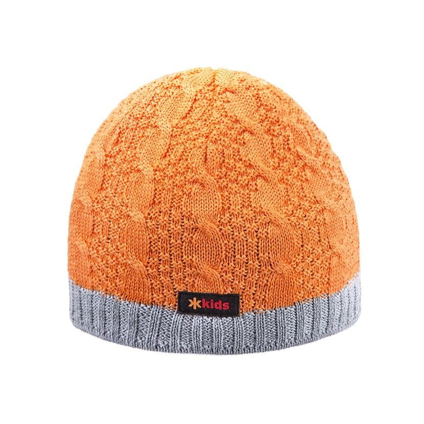 Gyerek fleece sapka KAMA B80 - narancssárga