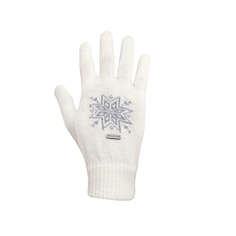 Pletené rukavice Merino Kama R104 přírodní bílá