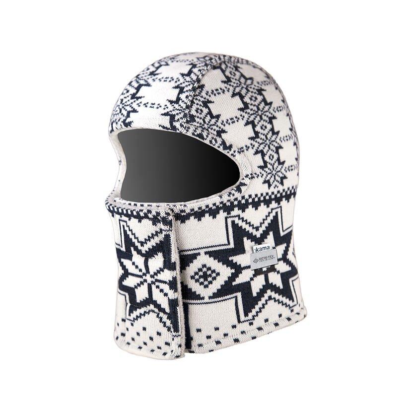 Extra insulated Merino Balaclava Kama DW22 -  White
