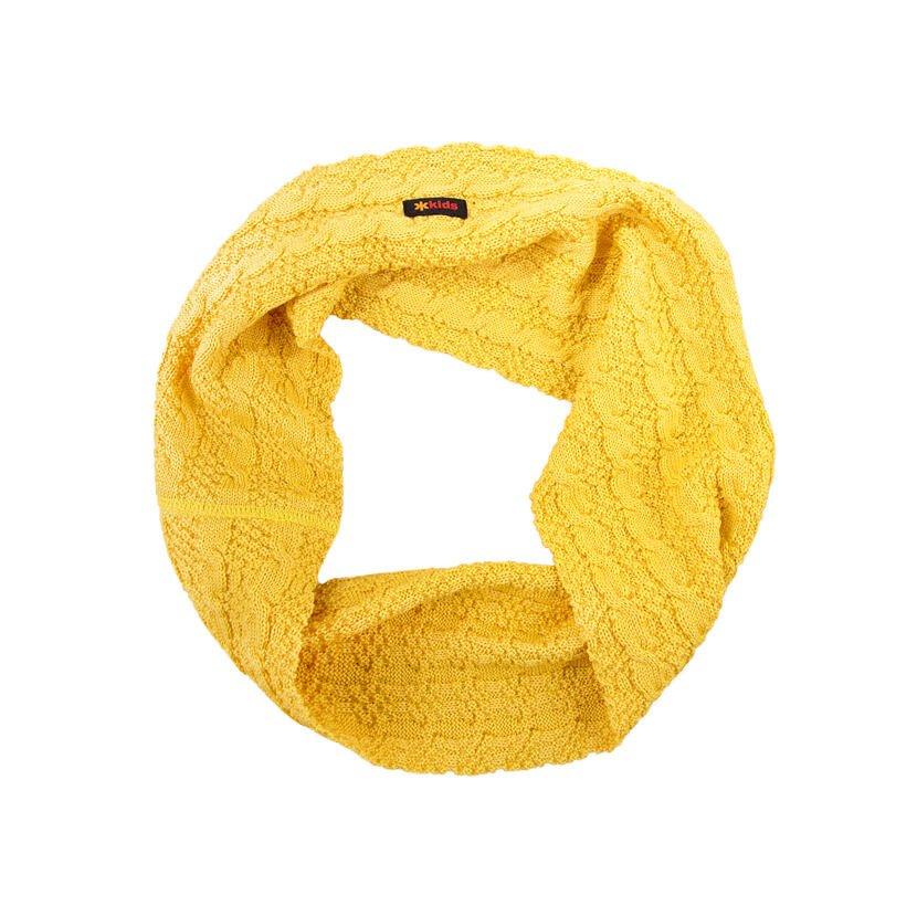 Gyerek merinó nyakmelegítő SB12 - sárga