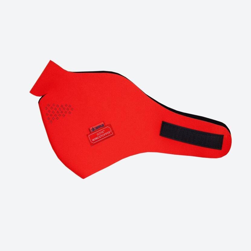 Soft Shell mask KAMA MW16  Red