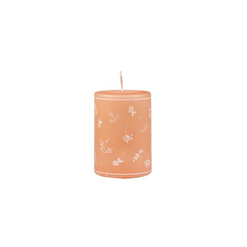 Svíčka větší květ oranžová