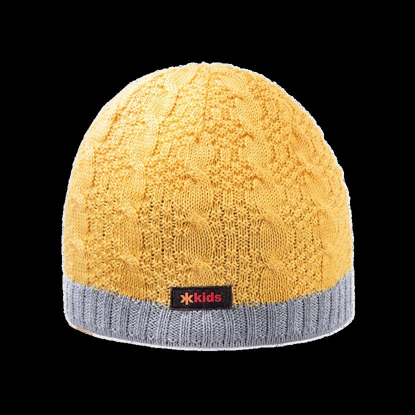 Gyerek fleece sapka KAMA B80 - sárga