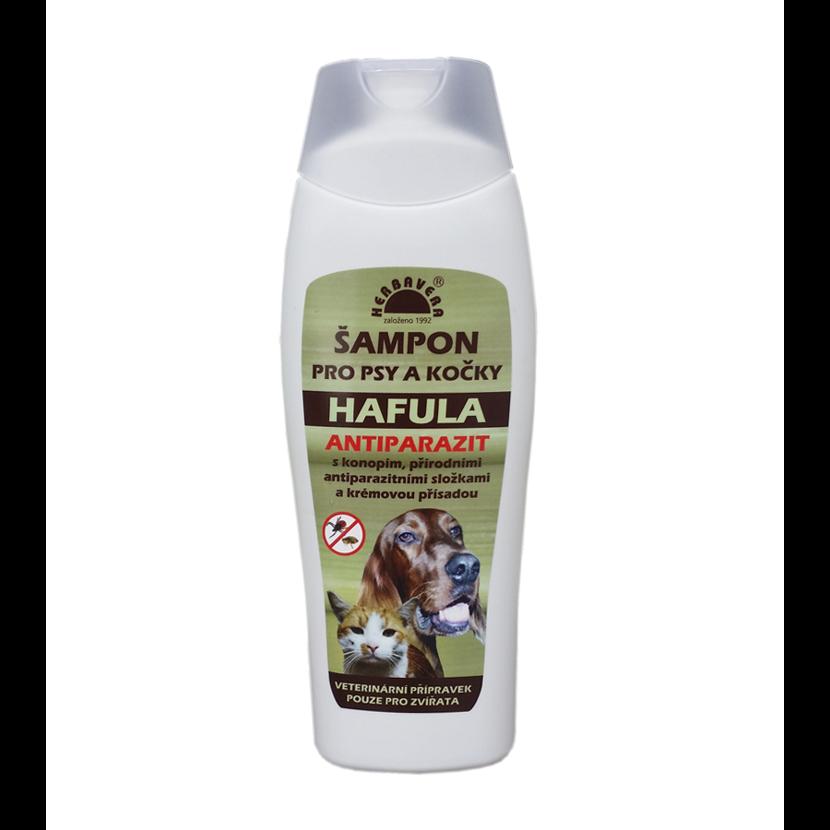 Šampón pre psy a mačky HAFULA Antiparazit 250 ml