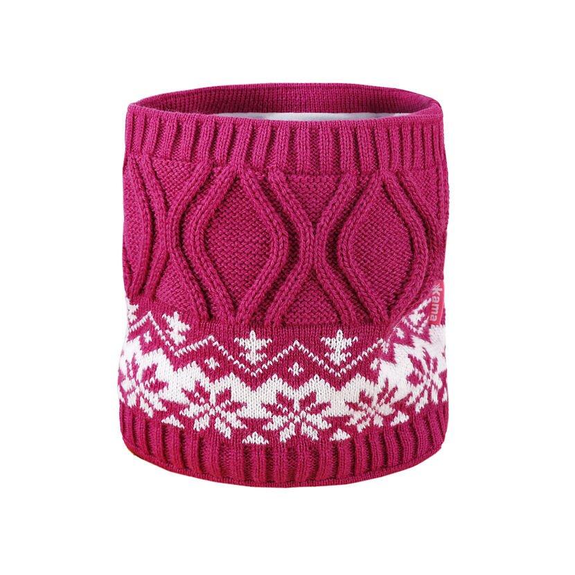 Kid's Knitted Merino Neckwarmer SB15 -  Pink
