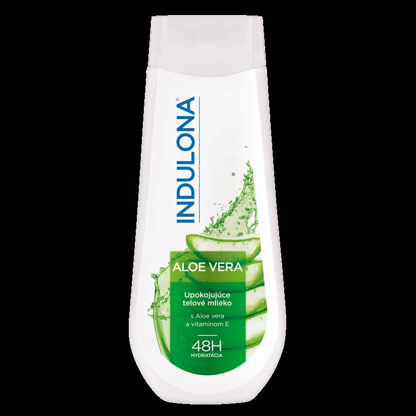 Indulona zklidňující tělové mléko s aloe vera 400 ml
