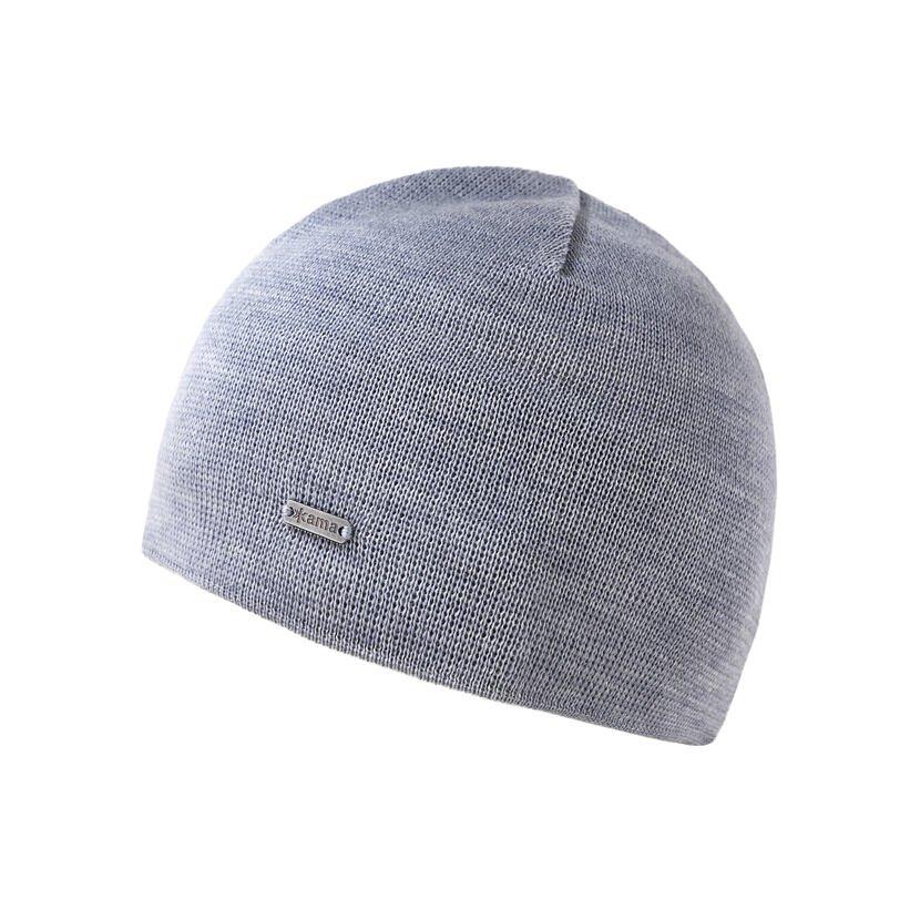 Kid's Merino knit hat Kama B96 - Gray